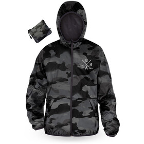 Loose Riders Windbreaker Men, charcoal camo